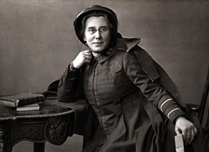 Photo:Florence Soper Booth, daughter-in-law of William, was in charge of the new department of rescue work